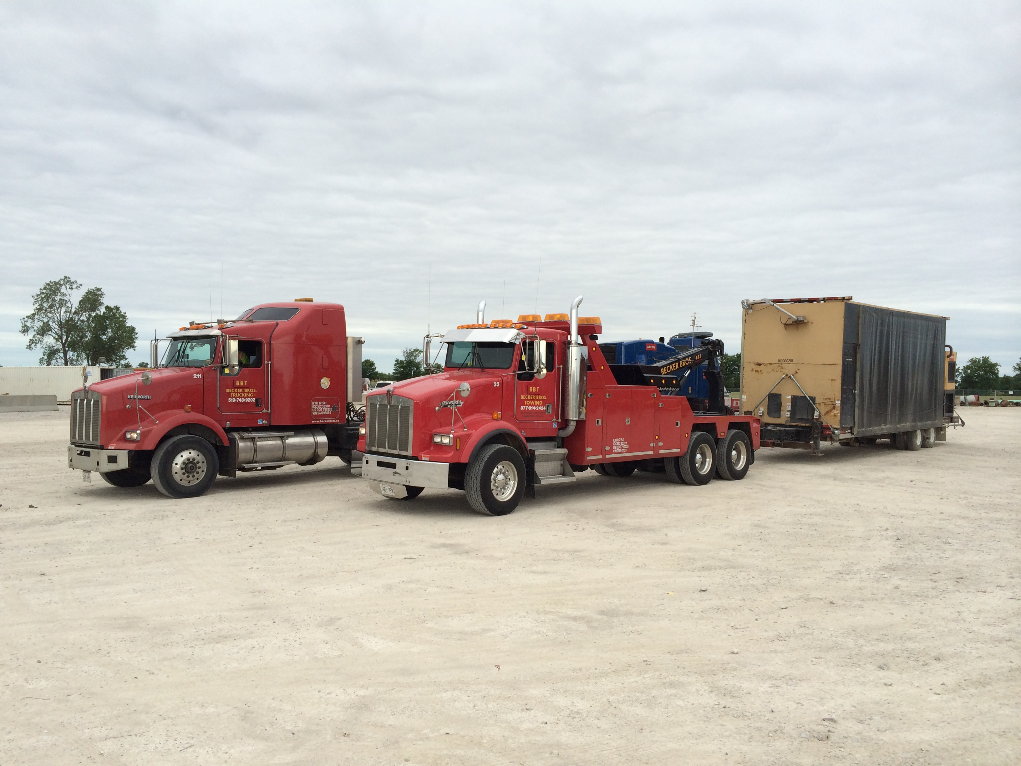 Specialized Towing | Becker Bros.